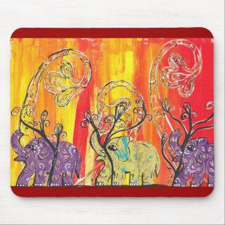 Desfile feliz Mousepad del elefante