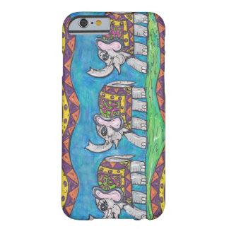Desfile maravilloso del elefante funda de iPhone 6 barely there