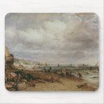 Desfile marino y embarcadero de cadena viejo, 1827 alfombrillas de ratones