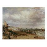 Desfile marino y embarcadero de cadena viejo, 1827 postales