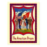 Desfile para el 4 de julio tarjeta postal