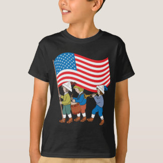 Desfile patriótico playera