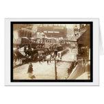 Desfile que celebra el ferrocarril SD 1888 de Dead Tarjetas