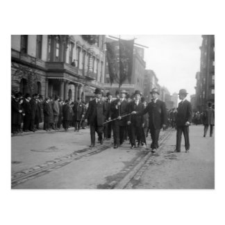 Desfile socialista, NYC: 1908 Postales