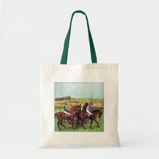 Desgasificaron caballos bolsas de mano