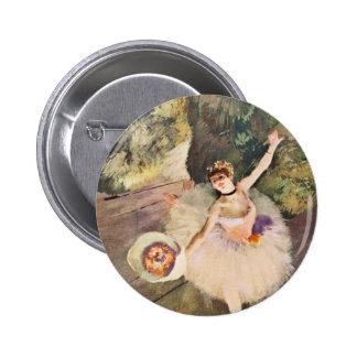 Desgasifique a la bailarina con un ramo de botón d