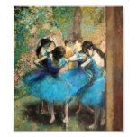 Desgasifique a los bailarines azules fotografías