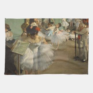 Desgasifique a los bailarines de ballet de la clas toallas de mano
