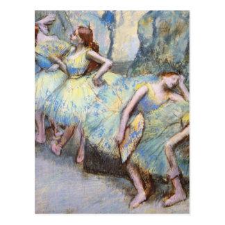 Desgasifique a los bailarines de ballet impresioni tarjetas postales