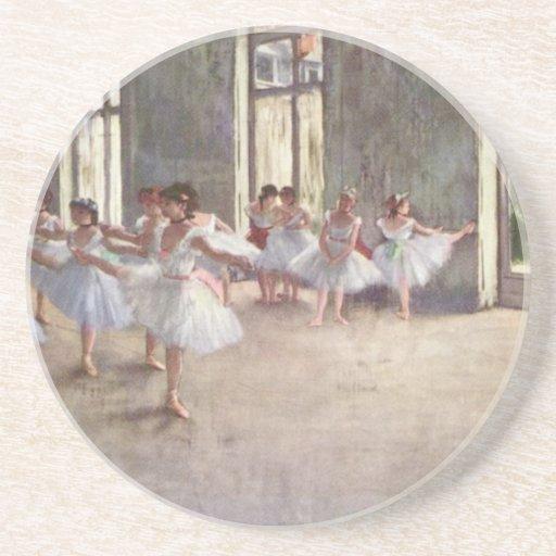 Desgasifique a los bailarines de ballet posavasos manualidades