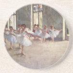 Desgasifique a los bailarines de ballet posavasos para bebidas