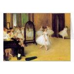 Desgasifique a los bailarines de ballet tarjetas