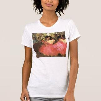 Desgasifique a los bailarines en camiseta rosada poleras