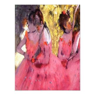 Desgasifique - a los bailarines rosados antes del invitaciones magnéticas