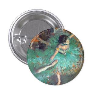 Desgasifique - a los bailarines verdes pin redondo 2,5 cm
