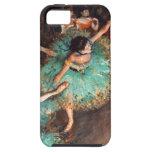 Desgasifique al bailarín verde iPhone 5 Case-Mate fundas