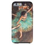 Desgasifique al bailarín verde funda de iPhone 6 tough