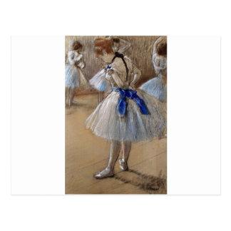 desgasifique el arte de la bailarina tarjeta postal