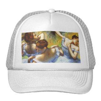 Desgasifique el gorra azul de los bailarines