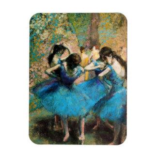 Desgasifique el imán azul de los bailarines