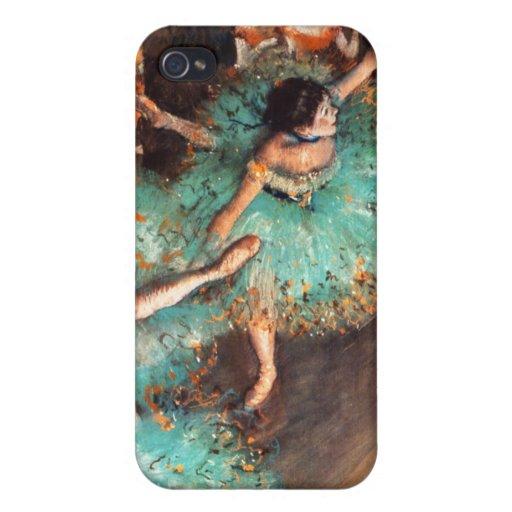 Desgasifique el iPhone verde 4 de los bailarines iPhone 4/4S Carcasas