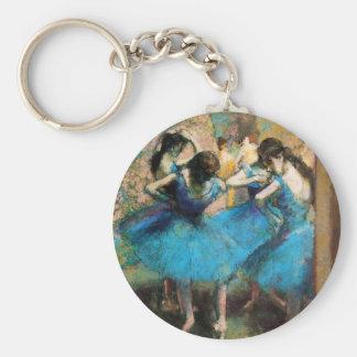 Desgasifique el llavero azul de los bailarines