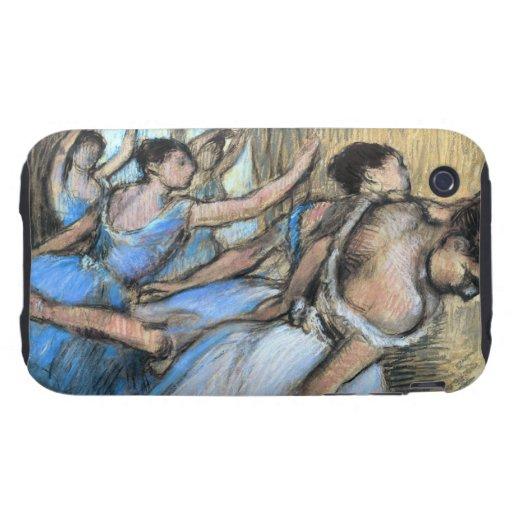 Desgasifique el pastel 1900 de los bailarines tough iPhone 3 cárcasas