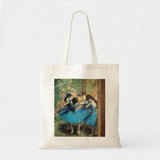 Desgasifique la bolsa de asas azul de los bailarin