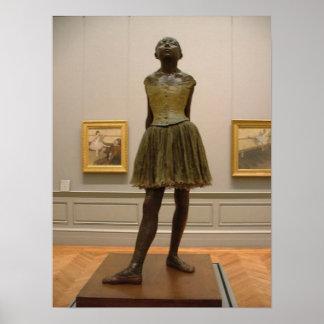 Desgasifique la escultura del bailarín póster