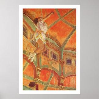 Desgasifique: Srta. Lala en el Cirque Fernando Posters
