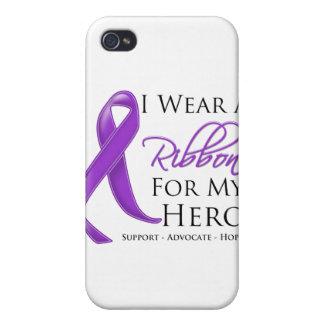 Desgaste de la epilepsia I una cinta para mi héroe iPhone 4 Funda