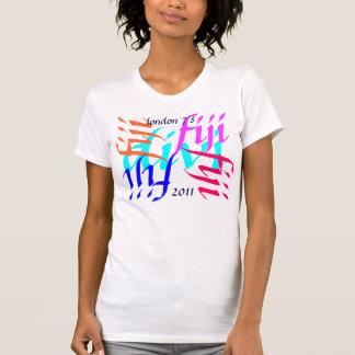 desgaste de la fan de Londres 7 del rugbi de Fiji Camisetas