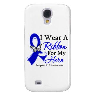 Desgaste del ALS I una cinta para mi héroe Funda Para Galaxy S4