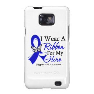 Desgaste del ALS I una cinta para mi héroe Samsung Galaxy SII Carcasa