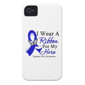 Desgaste del ALS I una cinta para mi héroe iPhone 4 Carcasas