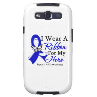 Desgaste del ALS I una cinta para mi héroe Galaxy S3 Fundas