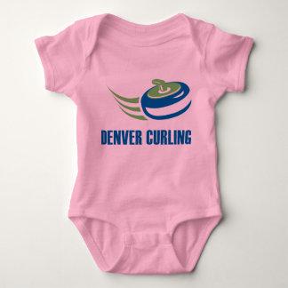 Desgaste del bebé de Denver que se encrespa Mameluco De Bebé