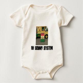 desgaste del bebé del sistema de sonido del i&i enterito