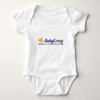 Desgaste del logotipo de BabyCrazy de los niños Camisas