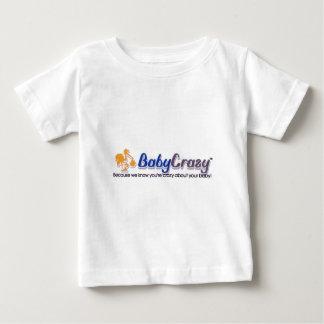 Desgaste del logotipo de BabyCrazy de los niños Playera