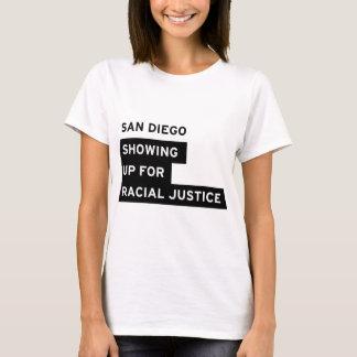 Desgaste del logotipo de SURJ San Diego Playera