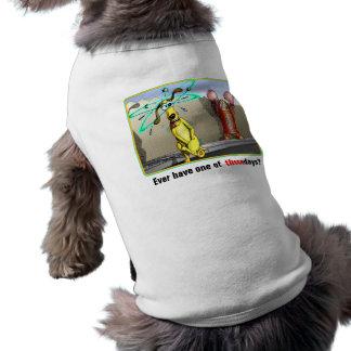 Desgaste del mascota del deslumbramiento del perro ropa de perros