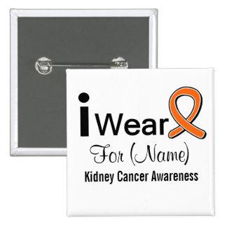 Desgaste del personalizable I una cinta del cáncer Pin Cuadrado