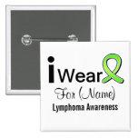Desgaste del personalizable I una cinta del linfom Pins