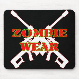 Desgaste del zombi .50 calibre alfombrillas de ratones