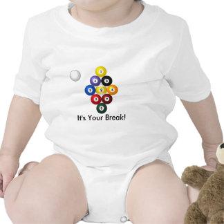 desgaste infantil del estante de 9 bolas trajes de bebé