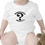 Desgaste infantil del logotipo de los escépticos traje de bebé