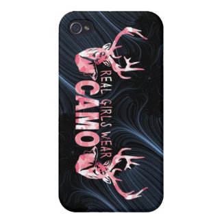 DESGASTE REAL CAMO DE LOS CHICAS iPhone 4 CARCASA
