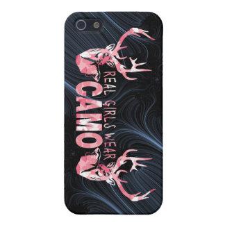 DESGASTE REAL CAMO DE LOS CHICAS iPhone 5 FUNDA