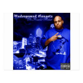 Desgaste subterráneo del álbum de Gangsta Tarjeta Postal